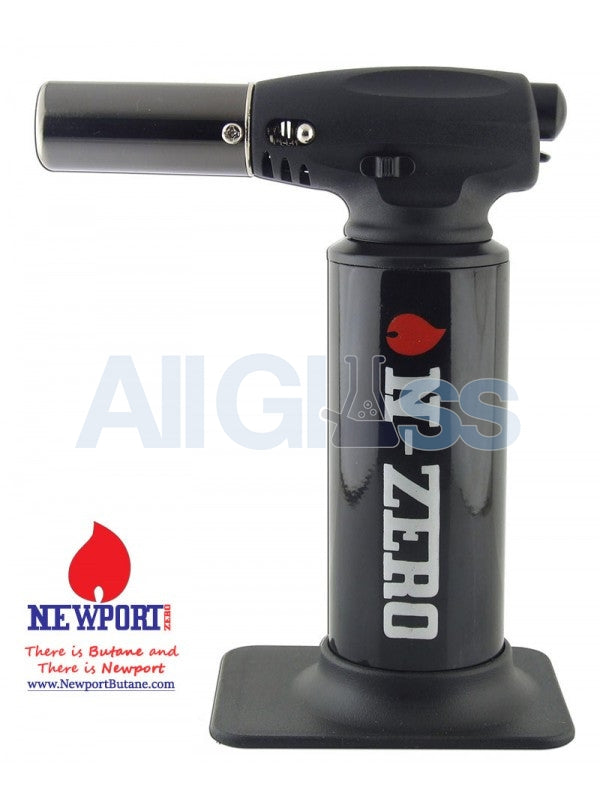 N-Zero Butane Torch - Black , Smoking Accessory - Newport Butane, AllGlass.com  - 1
