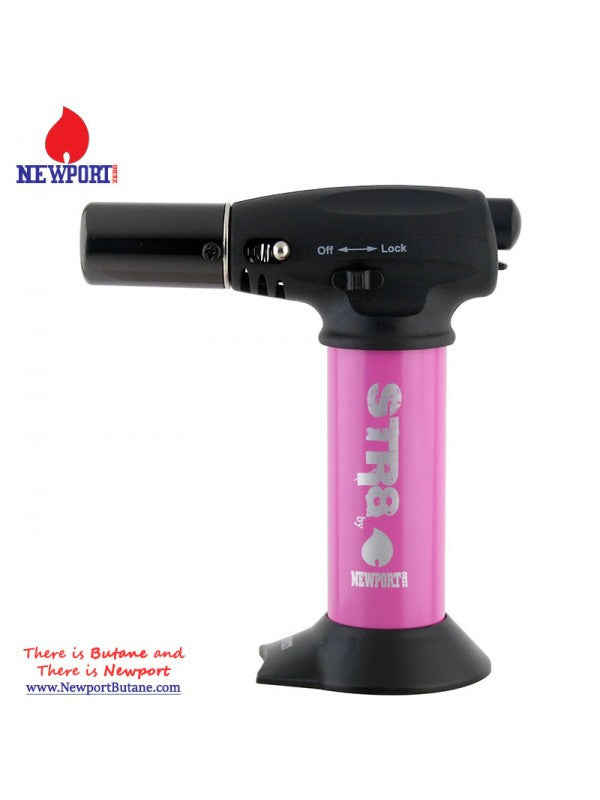 Newport Zero STR8 Turbo Torch - Pink , Smoking Accessory - Newport Butane, AllGlass.com  - 1