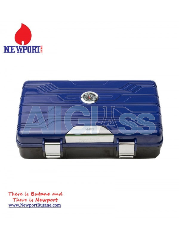 Portable Cigar Humidor , Smoking Accessory - Newport Butane, AllGlass.com  - 1