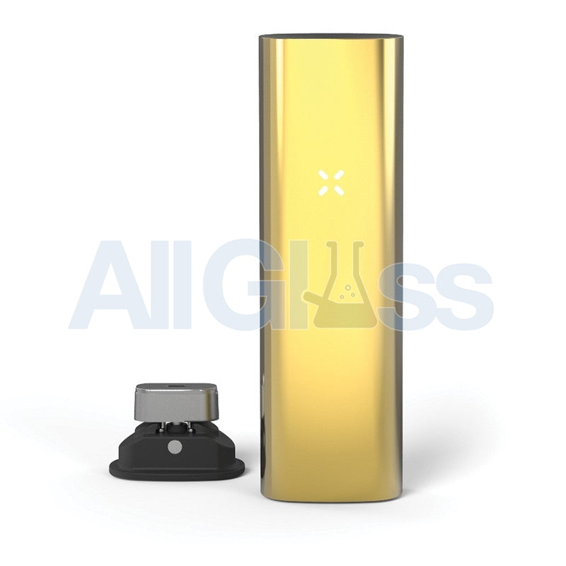 Pax 3 Vaporizer | Loose Leaf + Extract - Limited Edition Gold , Scientific Glass - AquaLab Technologies, AllGlass.com