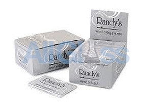 Randy's Classic Papers - Box of 25 , Rolling Papers & Rollers - Randys, AllGlass.com