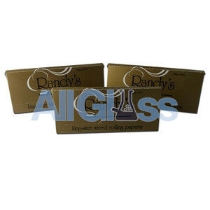 Randy's King Papers - 3 Pack , Rolling Papers & Rollers - Randys, AllGlass.com