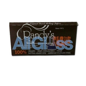 Randy's Roots Hemp Papers - Single Pack , Rolling Papers & Rollers - Randys, AllGlass.com