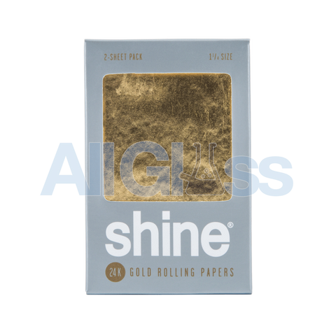 Shine 24k Gold Papers - 2 Sheets - Gold 1.25 for sale allglass