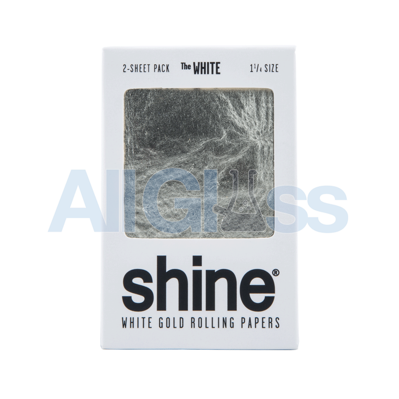 Shine 24k Gold Papers - 2 Sheet - White Gold 1.25 for sale