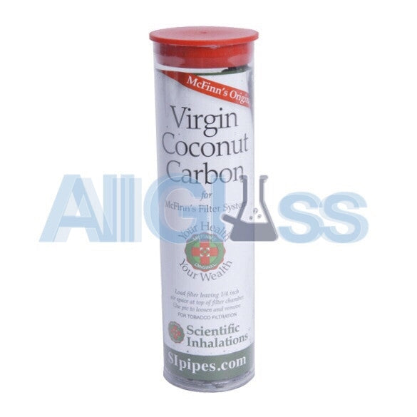 McFinn's Activated Virgin Coconut Carbon - 5oz. Tube , Smoking Accessory - AllGlass.com, AllGlass.com
