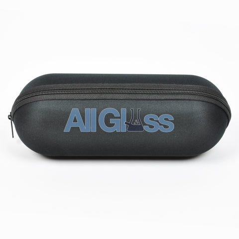 "Padded Foam Zipper Pipe Carrying Pouch - Large - 9.5"" , Smoking Accessory - AllGlass.com, AllGlass.com"