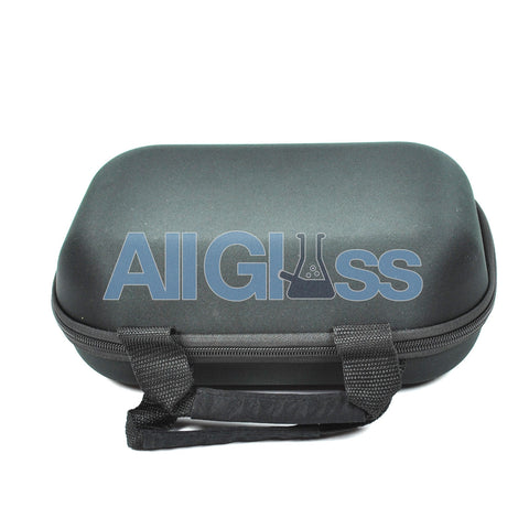 "Padded Foam Zipper Pipe Carrying Pouch - Large Square - 10.5"" x 8"" , Smoking Accessory - AllGlass.com, AllGlass.com"