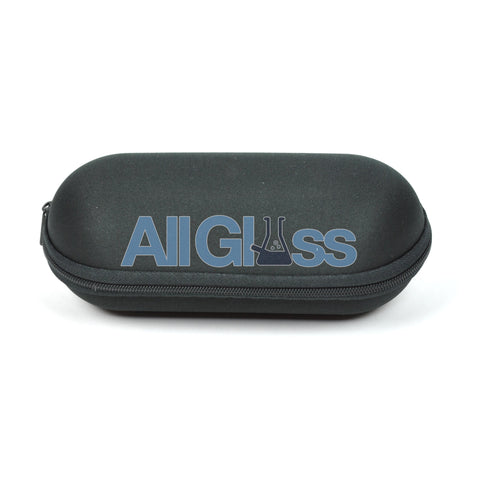 "Padded Foam Zipper Pipe Carrying Pouch - Medium - 6.5"" , Smoking Accessory - AllGlass.com, AllGlass.com"