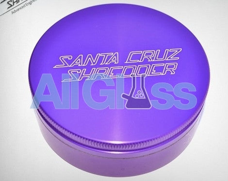 Santa Cruz Shredder Large 2-Piece Grinder - Purple , Smoking Accessory - SantaCruzShredder, AllGlass.com