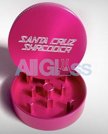 Santa Cruz Shredder Mini 2-piece - Hot Pink , Smoking Accessory - SantaCruzShredder, AllGlass.com