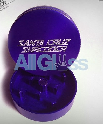 Santa Cruz Shredder Mini 2-piece - Purple , Smoking Accessory - SantaCruzShredder, AllGlass.com