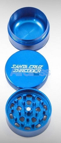 Santa Cruz Shredder Small 3 Piece Shredder , Smoking Accessory - SantaCruzShredder, AllGlass.com