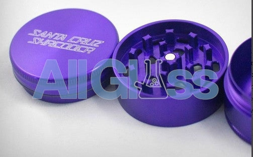 Santa Cruz Shredder Small 3 Piece Shredder - Purple , Smoking Accessory - SantaCruzShredder, AllGlass.com