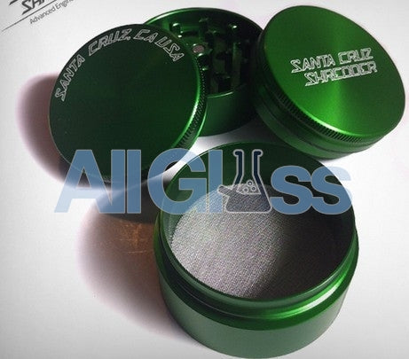 Santa Cruz Shredder Small 4 Piece Grinder - Green , Smoking Accessory - SantaCruzShredder, AllGlass.com