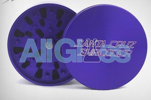 Santa Cruz Shredder Small 4 Piece Grinder - Purple , Smoking Accessory - SantaCruzShredder, AllGlass.com