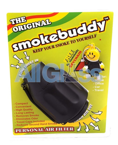 Smokebuddy Original Personal Air Filter Black, Smoking Accessory - SmokeBuddy, AllGlass.com