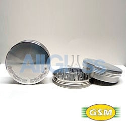 Space Case aluminum magnetic medium - 2 part grinder , Smoking Accessory - GSM Distributing, AllGlass.com
