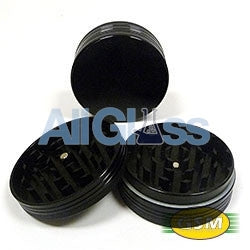 Space Case medium 2 pieces titanium grinders , Smoking Accessory - GSM Distributing, AllGlass.com