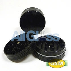 Space Case small 2 piece titanium grinders , Smoking Accessory - GSM Distributing, AllGlass.com