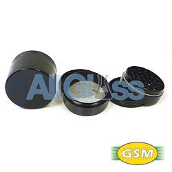 Space Case titanium magnetic medium- 4 part grinder sifter , Smoking Accessory - GSM Distributing, AllGlass.com