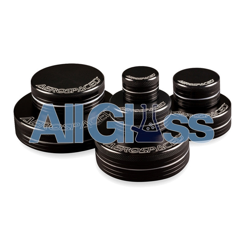 AEROSPACED 2 Piece Grinders , Vaporizer Accessories - VapeWorld, AllGlass.com