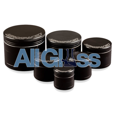 AEROSPACED 4 Piece Grinders/Sifters , Vaporizer Accessories - VapeWorld, AllGlass.com
