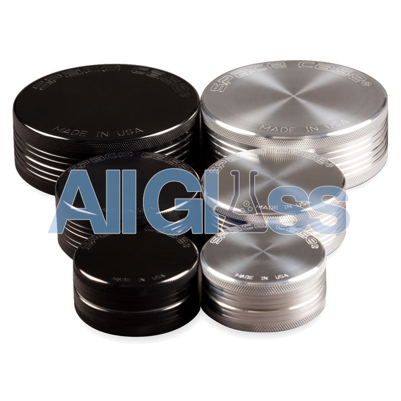 Space Case 2 Piece Grinders , Vaporizer Accessories - VapeWorld, AllGlass.com