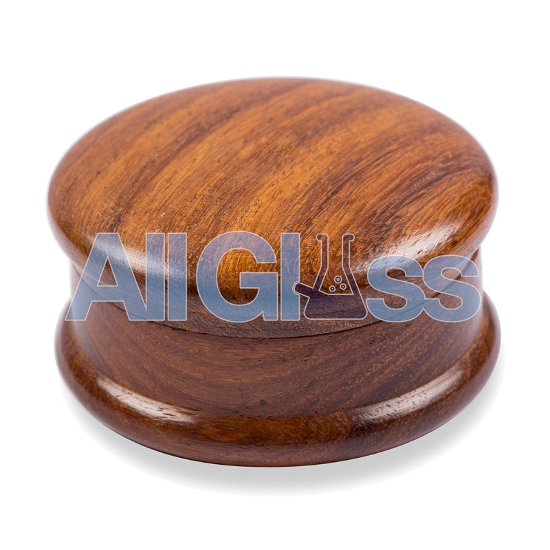 Wood 2 Piece Grinder , Vaporizer Accessories - VapeWorld, AllGlass.com
