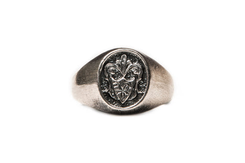 Shield Signet Ring