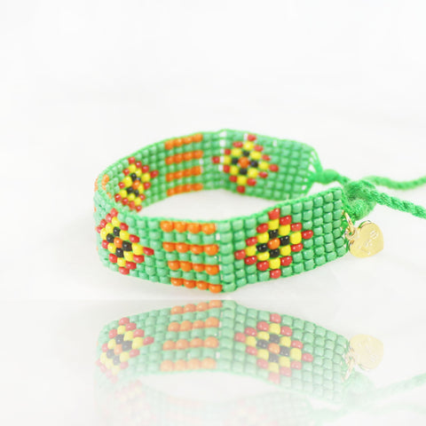 "The Wild Meadows ""Love Bead"" Bracelet"