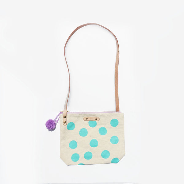The Spot You Later Leather Strap Shoulder Bag