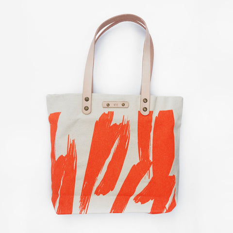 The Paint The Town Tote Leather Tote Love Bag