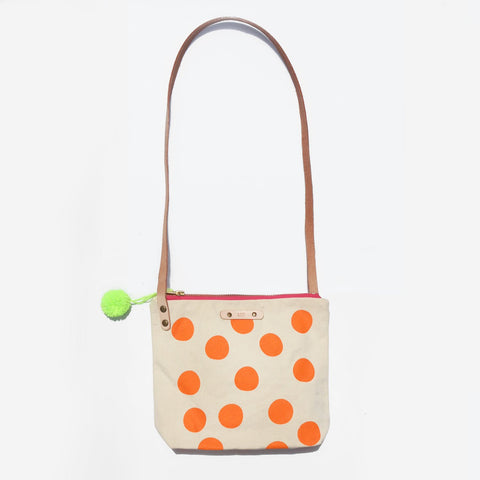 The Spot You Later Leather Strap Love Bag