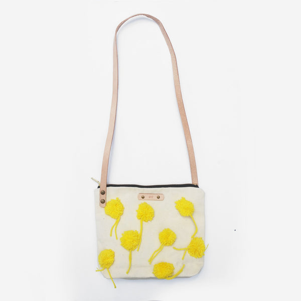 The Little Cheerleaders Leather Strap Shoulder Bag