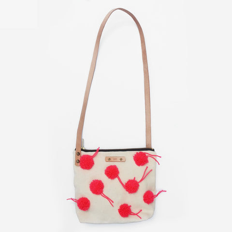 The Little Cheerleader Leather Strap Shoulder Bag