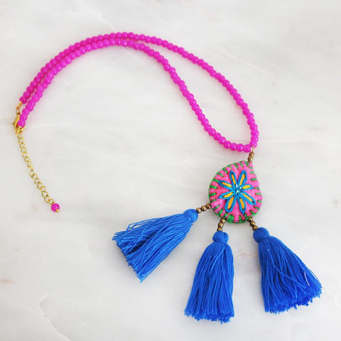 The Gypsy Magic Tassel Necklace