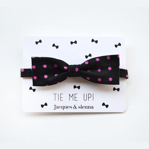 Polka Dot Boys Bow Tie by Jacques & Sienna