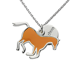 Pony Charm Necklace by Jacques and Sienna