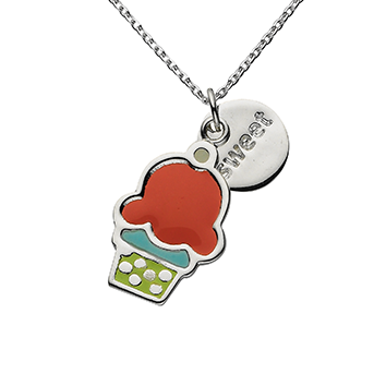 Charm Necklace for Children by Jacques and Sienna