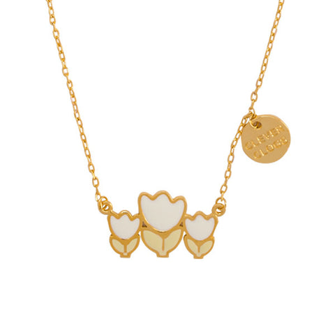 "Tulip ""Clever Clogs"" Word Charm Necklace"