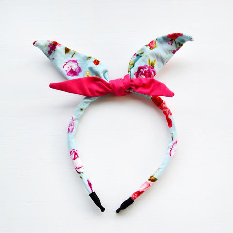 The Miss Claudette Retro Bow Headband