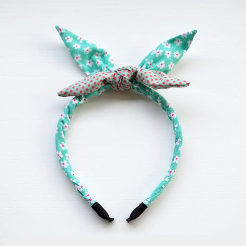 The Miss Veronica Retro Bow Headband