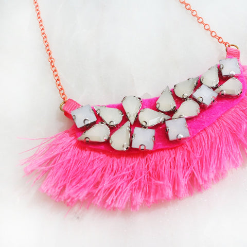 The Bohemian Rhapsody Tassel Necklace