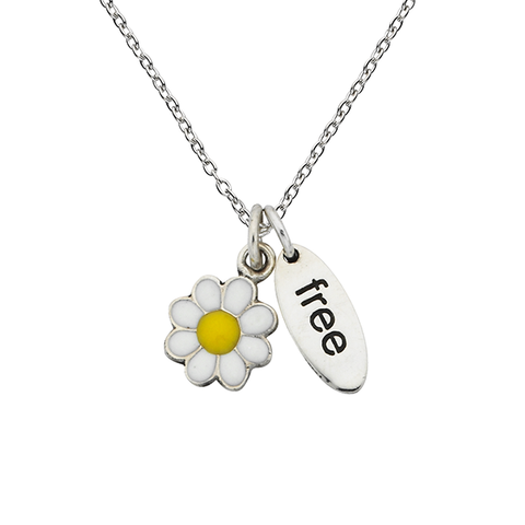 "Daisy ""Free"" Sterling Silver Necklace"