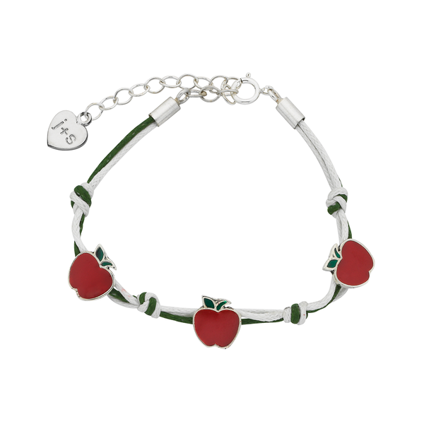 Apple Sterling Silver Bracelet