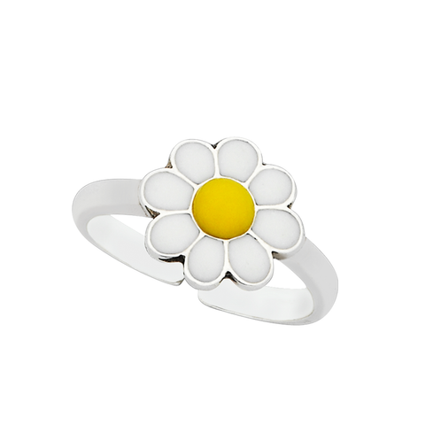 "Daisy ""Free"" Sterling Silver Ring"