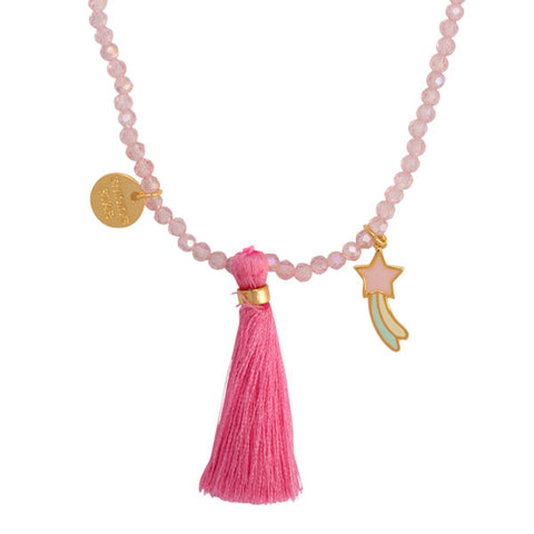 Shining Star Tassel Necklace