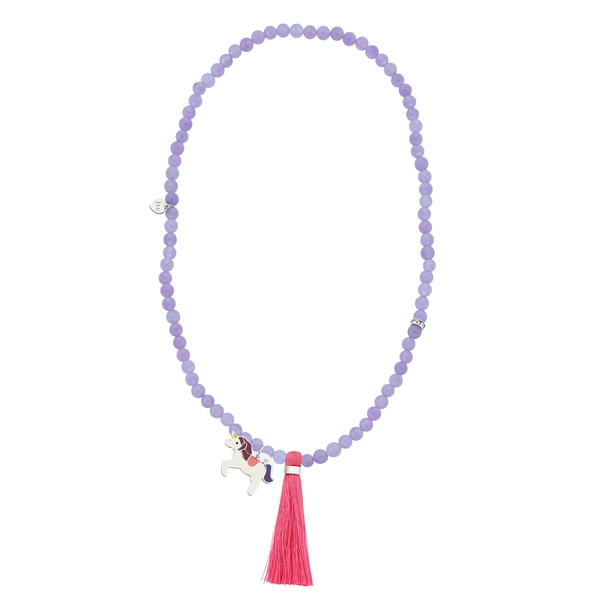 Unicorn charm necklace by Jacques and Sienna