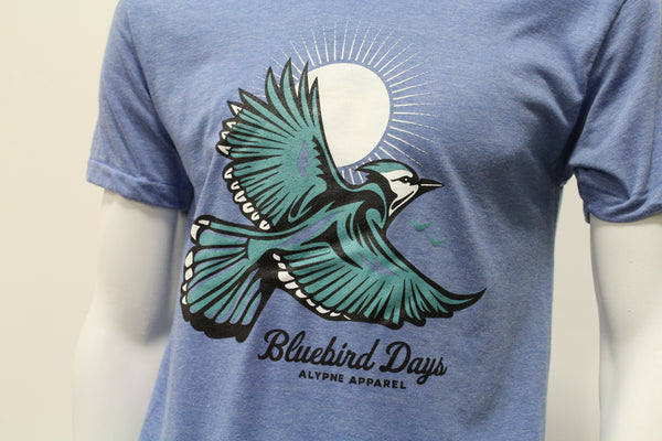 """Blue Bird"" T-Shirt"